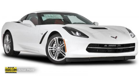 New Chevrolet Corvette 1LT