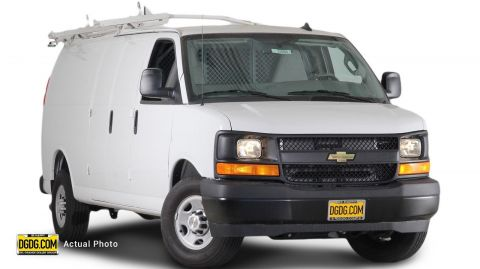 New Chevrolet Express Cargo Van Work Van