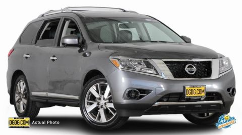 Used Nissan Pathfinder Platinum