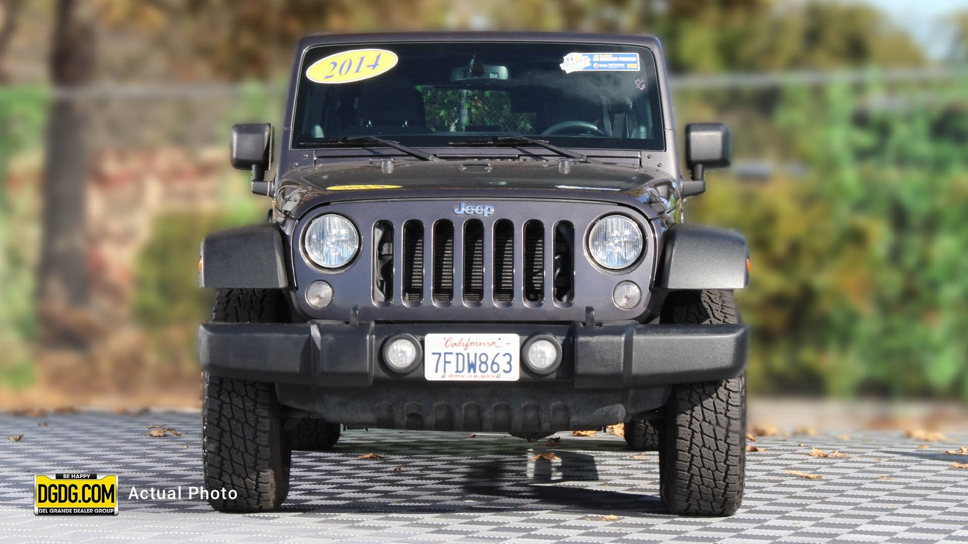 Pre-Owned 2014 Jeep Wrangler Unlimited Sport S