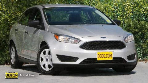 2017 Ford Focus S FWD 4D Sedan