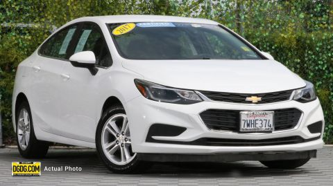2017 Chevrolet Cruze LT FWD 4D Sedan