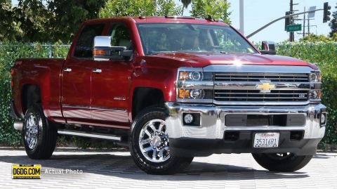 Pre-Owned 2015 Chevrolet Silverado 2500HD LTZ