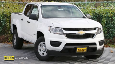 2020 Chevrolet Colorado 2WD Work Truck RWD Crew Cab Pickup