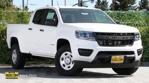 2019 Chevrolet Colorado 2WD Work Truck RWD Crew Cab Pickup