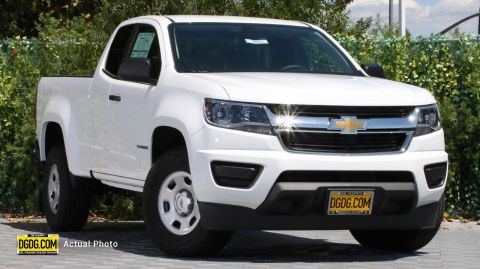 2020 Chevrolet Colorado 2WD Work Truck RWD Extended Cab Pickup