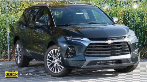2019 Chevrolet Blazer Premier With Navigation & AWD