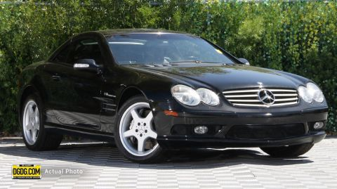 2003 Mercedes-Benz SL-Class SL 55 AMG® With Navigation